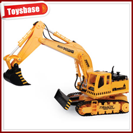 11CH 4x4 rc trucks for sale flexible excavator rc truck for sale remote control hot selling 4x4 rc trucks