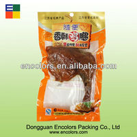 FDA grade vacuum food package NY/PE materail bag for chicken leg