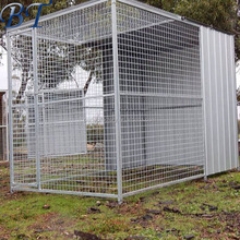 Hot dipped galvanized welded dog kennel/dog cage with high quality for sale