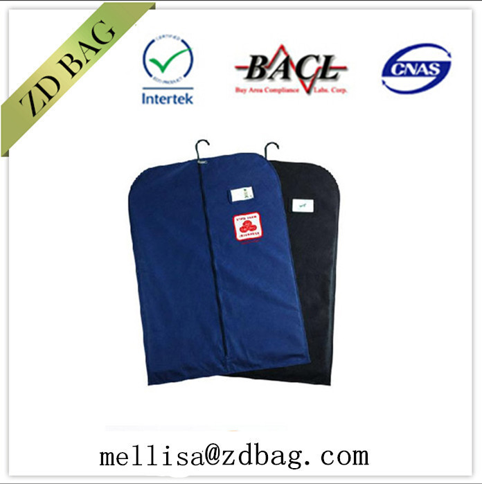 wholesale Dust thickened non woven suits /garment dustproof cover