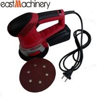 450W 6'' 150mm Pad Electrical Woodworking Random Sander Orbital Electric Orbital Sander Disc Sander Made in China