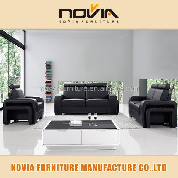 Lastest 1 2 3 Seater Turkish Style Sofa Furniture With Stools 202