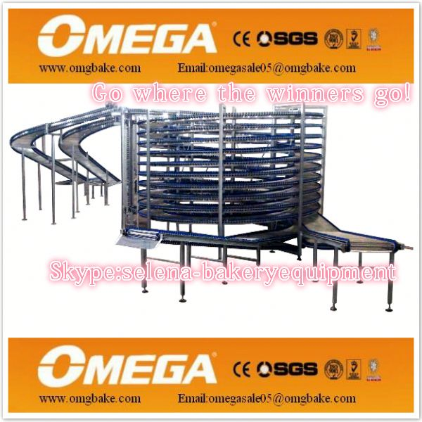 pita bread production cooling tower