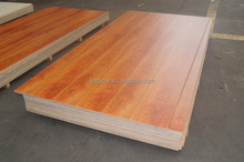 Double bed design use 18mm hardwood plywood boards