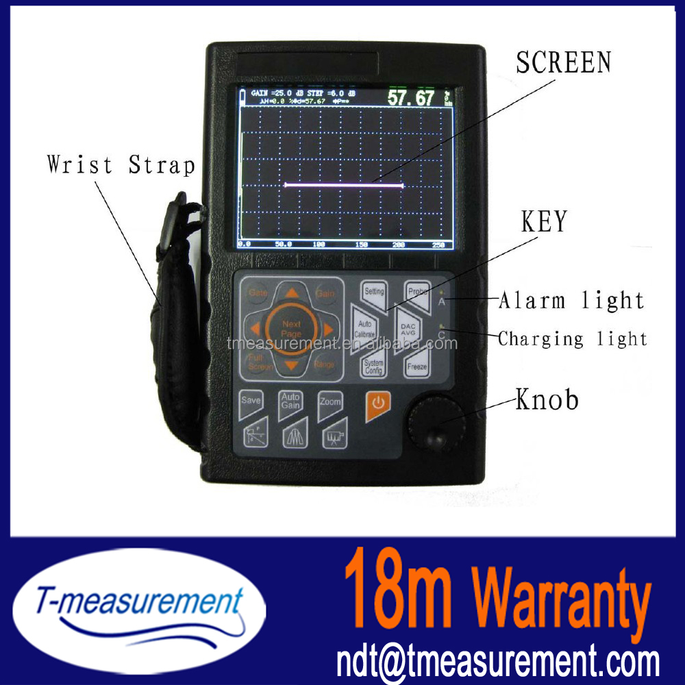 Non Destructive Testing In Welding Ultrasonic Testing Flaw Detector