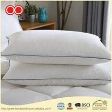 Home Hotel Plain Cover White Duck Down Bedding Decorative Pillow For Sleeping
