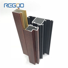 Regoo Custom extrusion aluminium door frame profiles for kitchen door