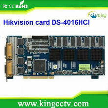 DVR Card 16CH Conline scratch cards Card DS-4016HCI