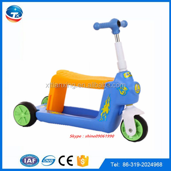 CE Approved High Quality child scooter toys/wholesale kids three wheel trike scooter/baby scooter tuk tuk