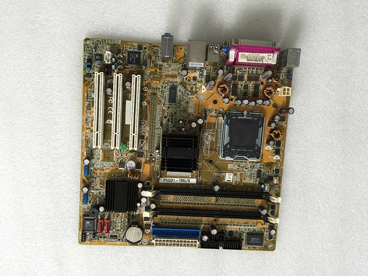 Server motherboard P5GD1-TML/S REV 1.00 in used item and tested working with fast delivery
