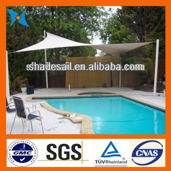 shade sails for outdoor sunshade breathable fabric