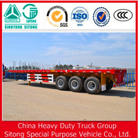 3 AXLE ,40FT CONTAINER / FLAT SEMI TRAILER , TRUCK CHASSIS FOR SALE