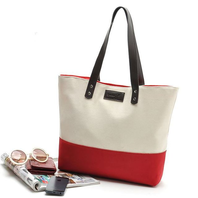 Wholesale Latest high quality lady canvas bags