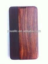 Fashion Bamboo Wood Back Protector Flip Hard Case/Cover for samsung galaxy note 3