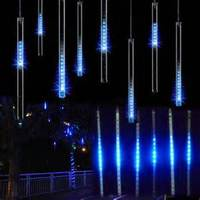 3d dmx 5050 rgb led Christmas metero colorful falling star lighting tube for light club DJ bar