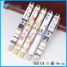 High quality traditional chinese ceramic pen as business gift promotional porcelain pen