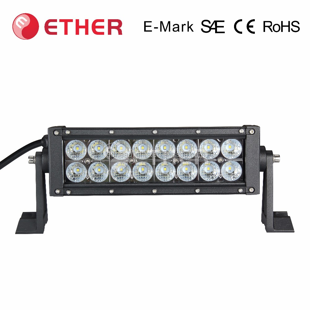 Led light bar 36W/72W with DOT Compliant for ATV Car truck 4x4