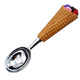 ice cream tools trigger stainless steel ice cream scoop with resin handle