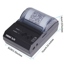 Paper out detection 2000mAh/7.4V rechargeable Li-ion battery Thermal Receipt Printer