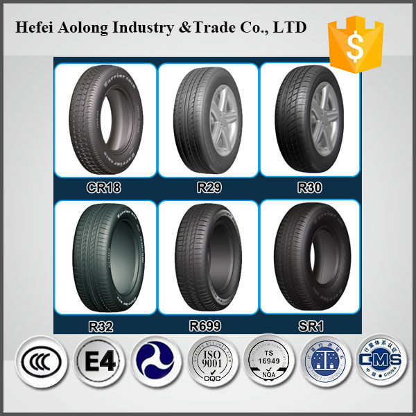 China top tyre brand with best rubber, 12inch radial new car tires
