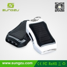 Flashlight keyring Solar Charger for Your Smartphone Doubles as Flashlight