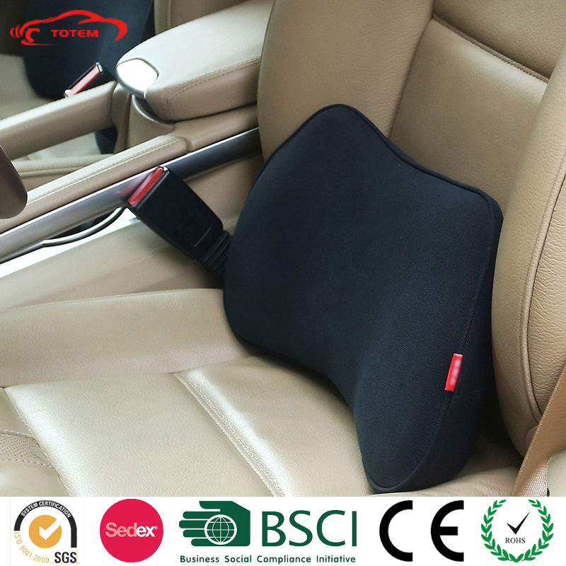 Totem High Density Elastomer Flexible Breathable Car back lumbar Support Cushion/Car Back Support Cushions