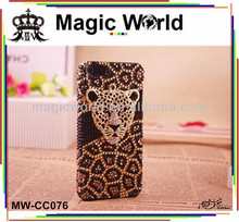 FOR I PHONE 5S LEOPARD CUSTOM CELL PHONE CASE