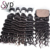 9a Super Double Drawn Raw Virgin Remy Human Natural Brazilian Hair Bundles Extensions