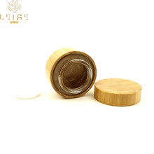 eco friendly cosmetic <strong>containers</strong> bamboo <strong>container</strong> with lid wholesale bamboo cosmetic jars jars with bamboo lids 50g