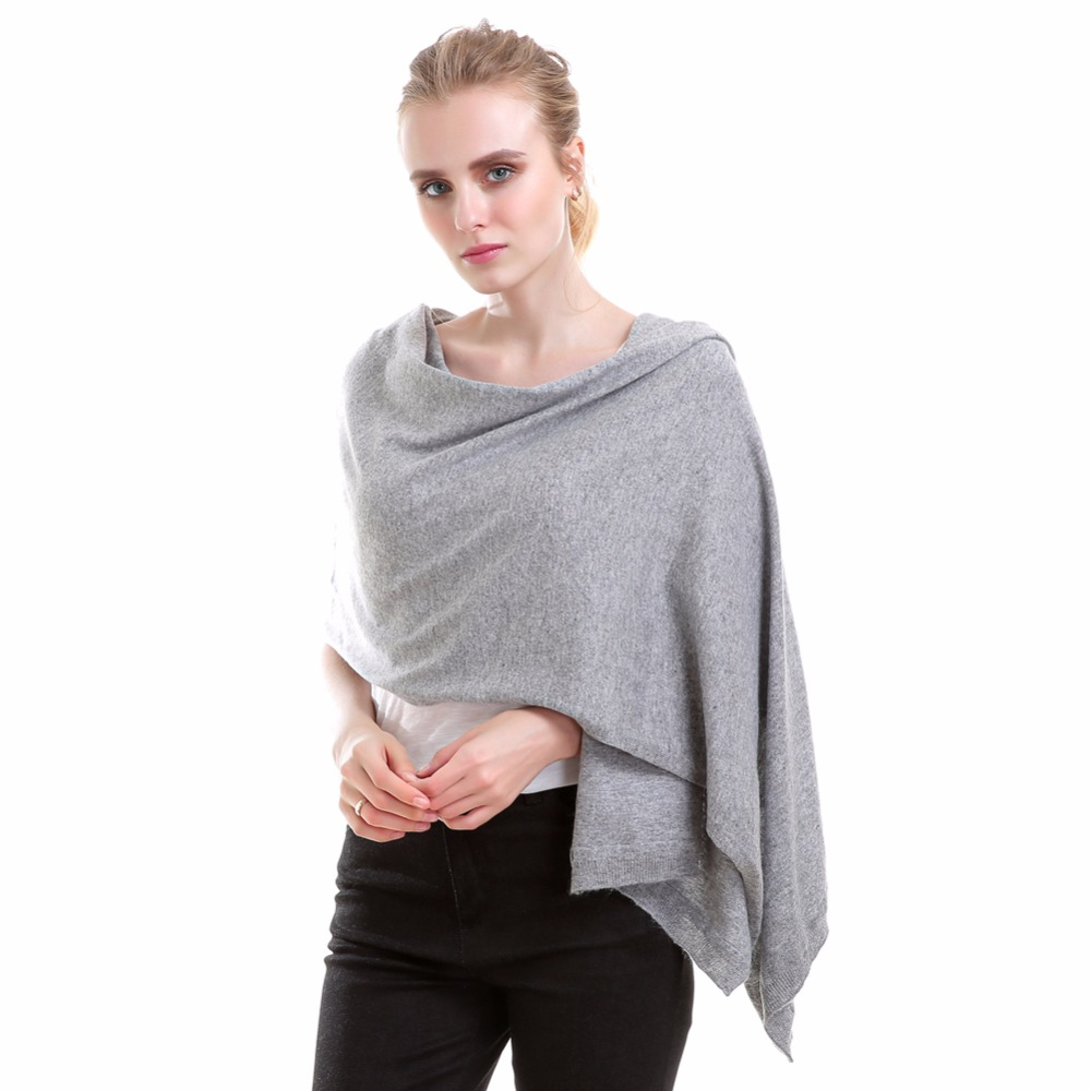 Hot sale mir cashmere scarf Fashion solid color winter pashmina cashmere scarf 100% shawl stole shawl scarf
