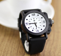 Best price high quality silicone watches men. vogue watch sports