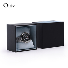 Factory Custom Creative Drawer Design Jewelry Boxes With Suede Pillow Insert Shop Bracelet Diaplsy Black Watch Packaging Box