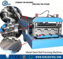 Steel Floor Deck Rolling MachineType Metal Decking Roll Forming Machine, Floor Tile Making Machine
