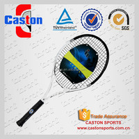 High elasticity nondeformable tennis racket