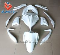 China supplier ZJMOTO FRP Motorcycle Bodywork Fairings For Scooter PCX 125 FRP FRP Racing Fairing Body Kits Cover (HRH)