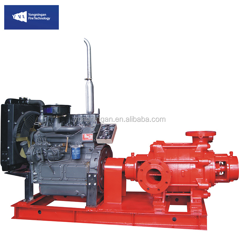 YNA-XBD Fire Fighting Equipment Emergency Trailer Portable Diesel Engine Driven Fire Hydrant Sprinkler Pump