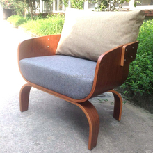 high quality popular wholesale solid bentwood teak sofa