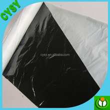 Low silver black perforated LDPE Mulch Film Price/perforated plastic mulch film