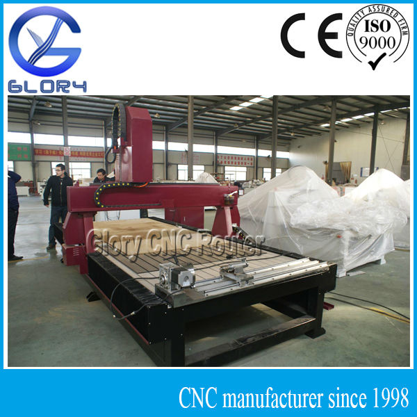 Jinan 1325 CNC Router with 4th Axis of Rotation
