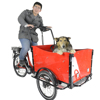 CE Holland bakfiets family 3 wheel cargo reverse trike motorcycles tricycle for shopping