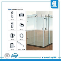 frameless sliding shower screen, shower enclosure room