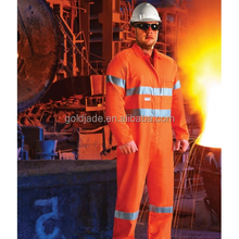Fire Retardant Industrial Ultrasoft workwear uniform Reflective Tape overalls