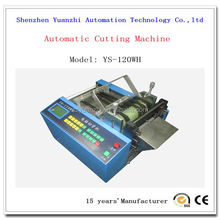 plastic mesh tube cutter machine