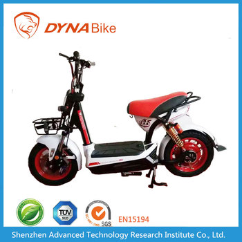 DYNABike High Quality Classic Design with Basket 60Km/h Speed Adult Motorcycles Electrics