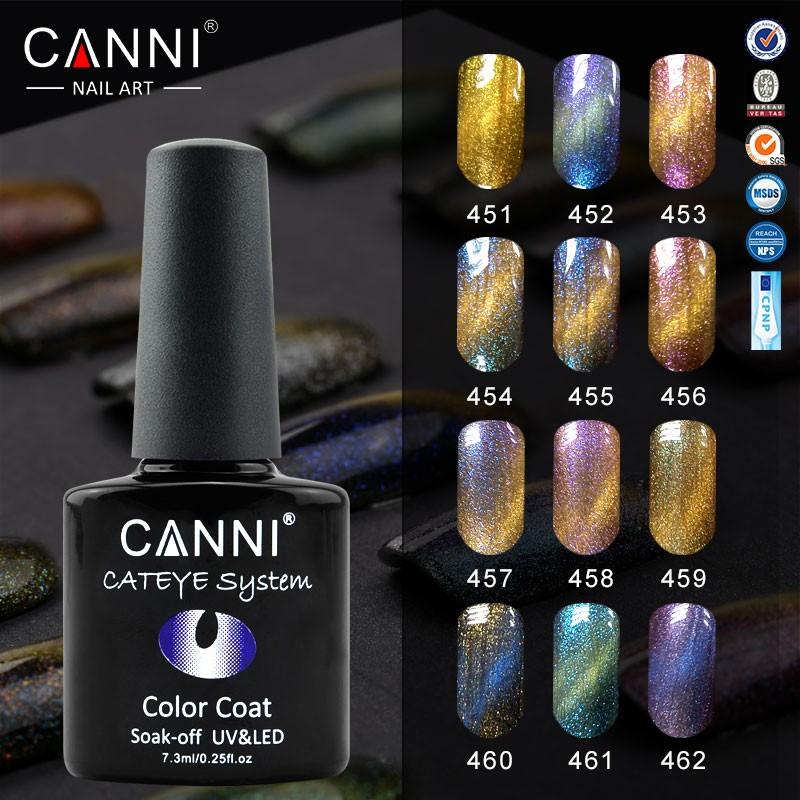 2017 New Christmas Nail Designs Canni 7.3ml 12 Colors Nail Art ...