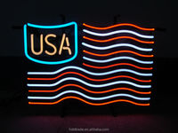 Advertising company logo p3 led sign xxx moves in use glass tube and colors lights china