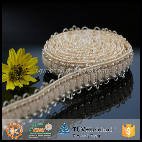 Personalized design Shantou Shangang picot crochet underwear elastic band for women