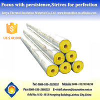 Glass Wool Insulation Material Flexible Steam Pipes