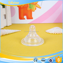 BPA free and silicone liquid baby nipple