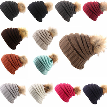 Winter hot sale women warm woolen knitted hat